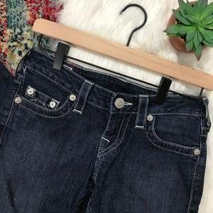 True Religion • Dark Denim Skinny Jeans